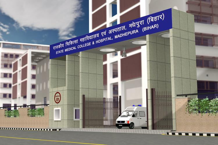 L&T-Medical College & Hospital Project at Madhepura Distt. in Bihar