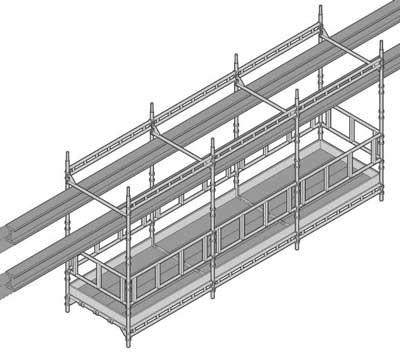 hanging scaffold